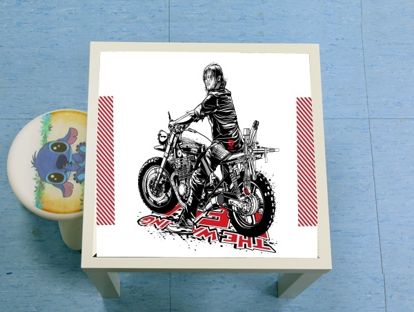 table d'appoint Daryl The Biker Dixon