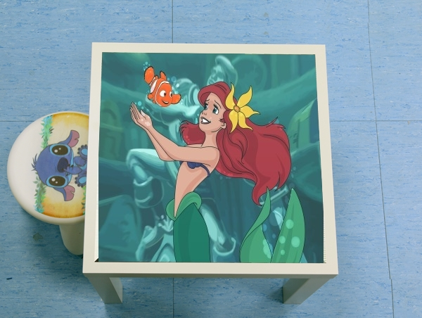 table d'appoint Disney Hangover Ariel and Nemo
