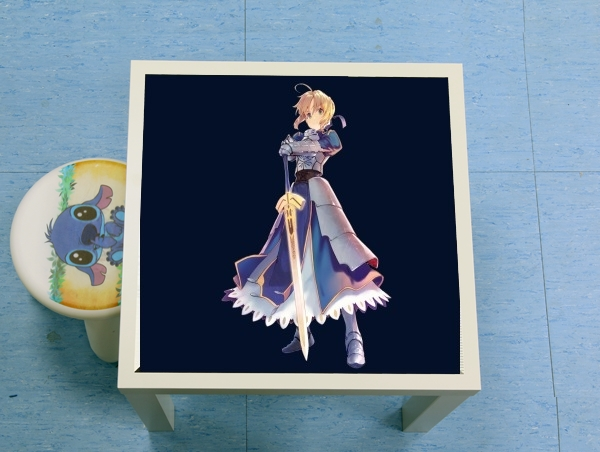table d'appoint Fate Zero Fate stay Night Saber King Of Knights