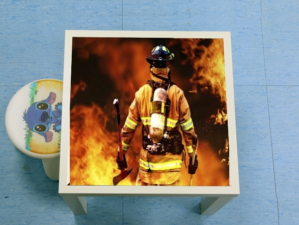 table d'appoint Firefighter - pompiere