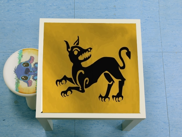 table d'appoint Flag House Clegane