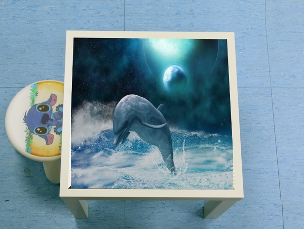 table d'appoint Freedom Of Dolphins