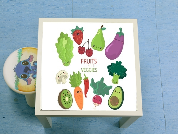 table d'appoint Fruits and veggies
