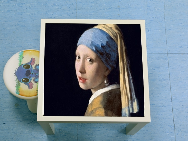 table d'appoint Girl with a Pearl Earring