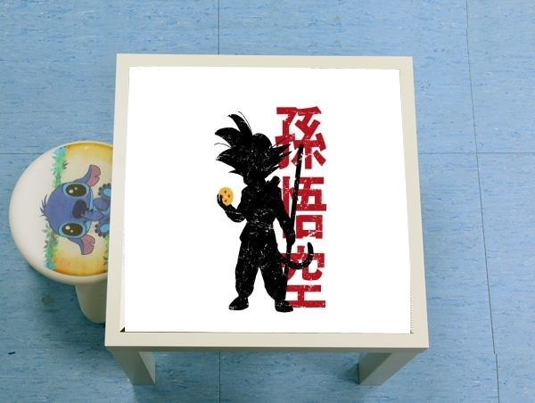 table d'appoint Goku silouette