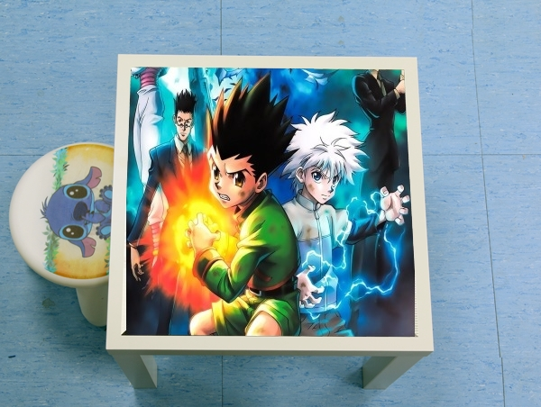 table d'appoint Hunter x Hunter Poster Art