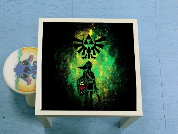 table d'appoint Hyrule Art