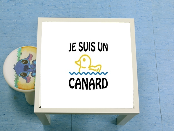 table d'appoint Je suis un canard