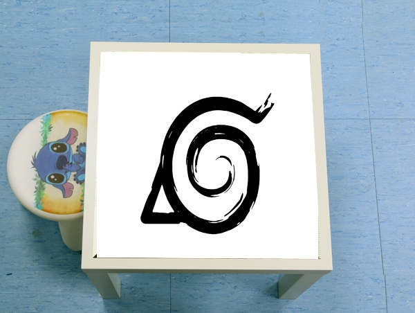 table d'appoint Konoha Symbol Grunge art