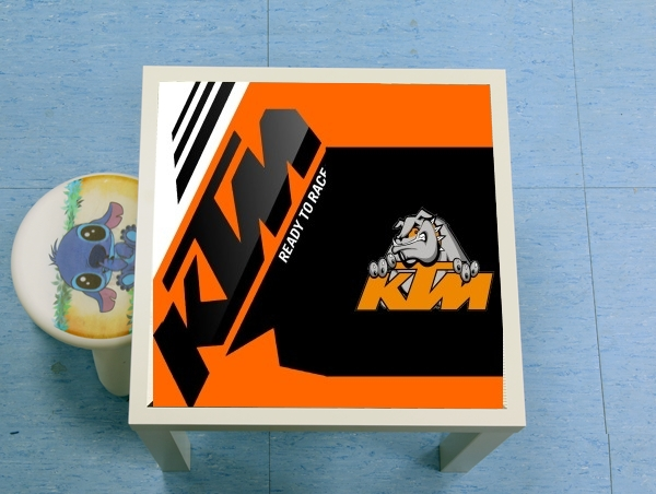 table d'appoint KTM Racing Orange And Black