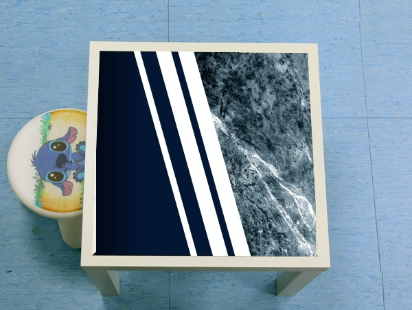 table d'appoint Marble Navy