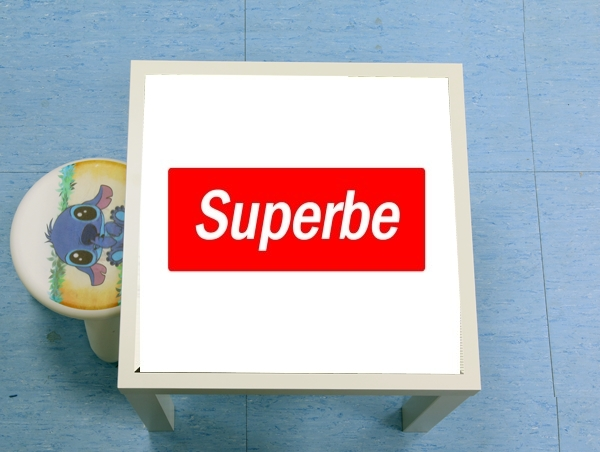 table d'appoint Message Humor Superb Supreme Parody