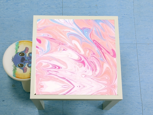 table d'appoint Minimal Marble Pink
