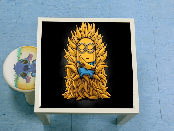 table d'appoint Minion Throne