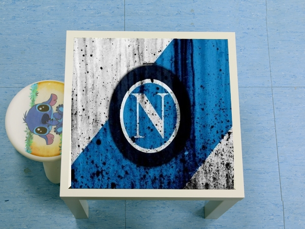 table d'appoint Napoli Football Kit Home