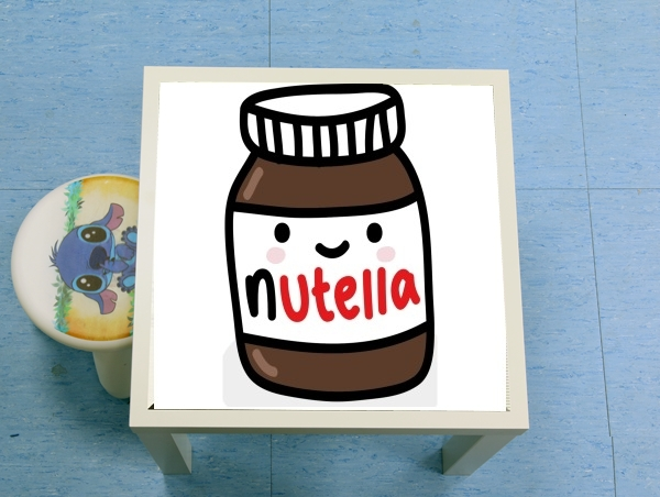 table d'appoint Nutella