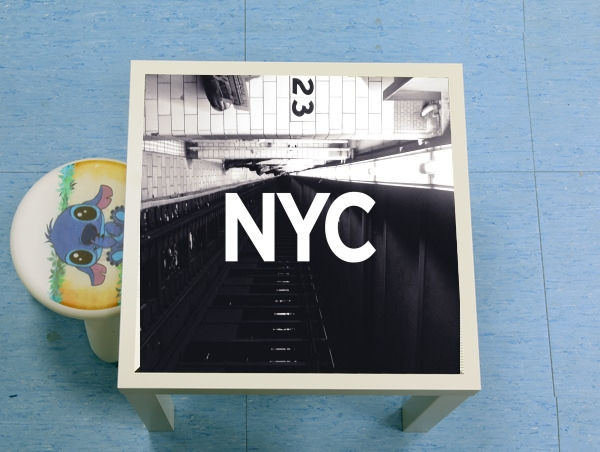 table d'appoint NYC Basic 1