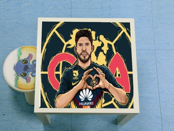 table d'appoint Oribe Peralta Aguilas America