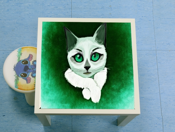 table d'appoint Painting Cat