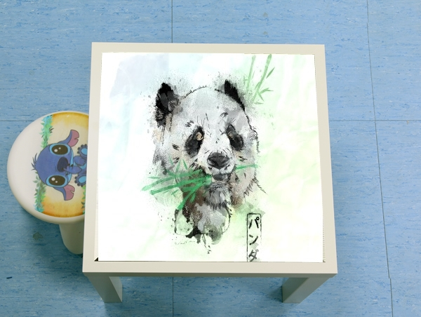 table d'appoint Panda Watercolor