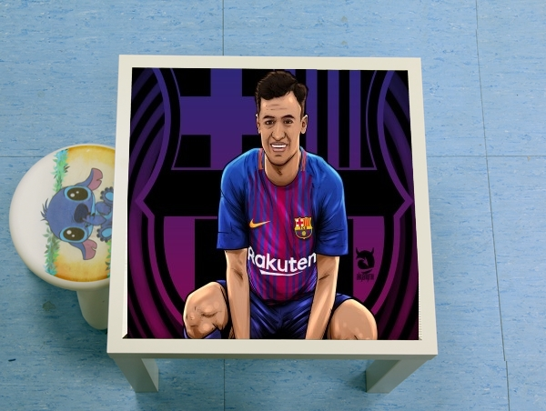 table d'appoint Philippe Brazilian Blaugrana