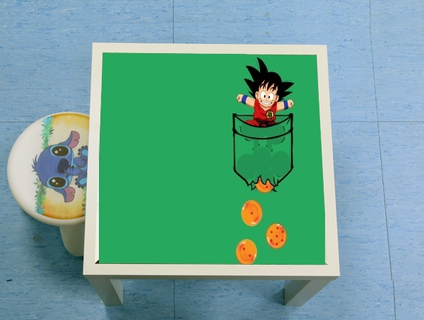 table d'appoint Pocket Collection: Goku Dragon Balls