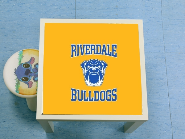 table d'appoint Riverdale Bulldogs
