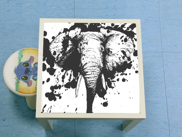 table d'appoint Splashing Elephant