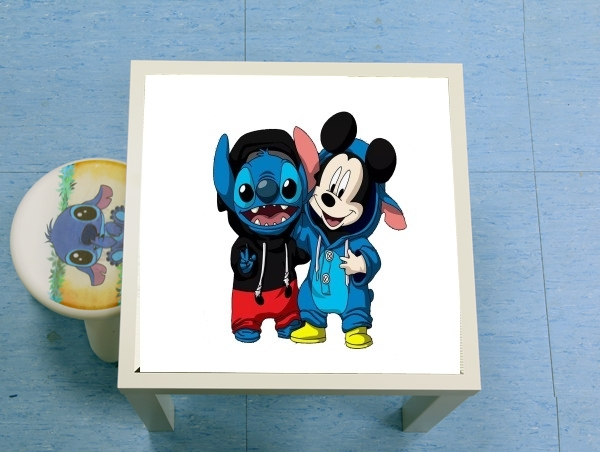 table d'appoint Stitch x The mouse
