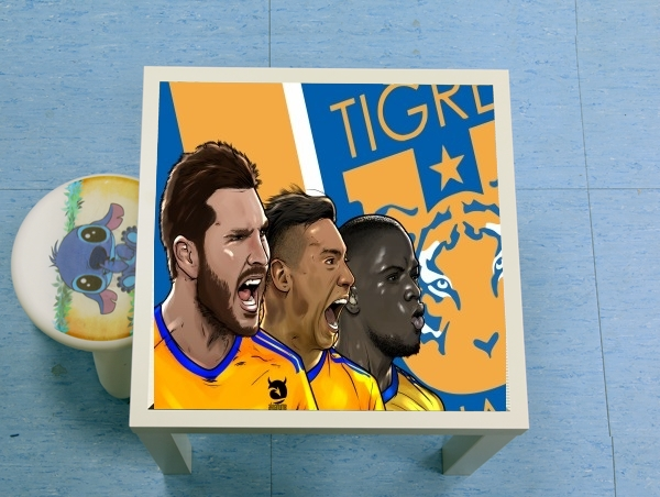 table d'appoint Tigres Tridente