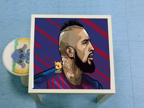 table d'appoint Vidal Chilean Midfielder