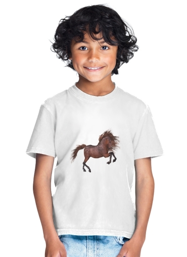 tshirt enfant A Horse In The Sunset
