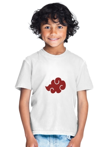 tshirt enfant Akatsuki Cloud REd