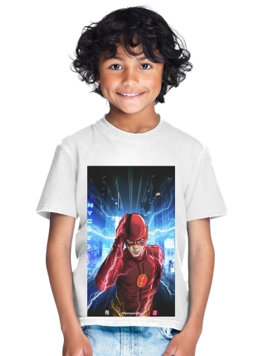 tshirt enfant At the speed of light