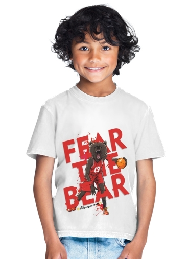 tshirt enfant Beasts Collection: Fear the Bear