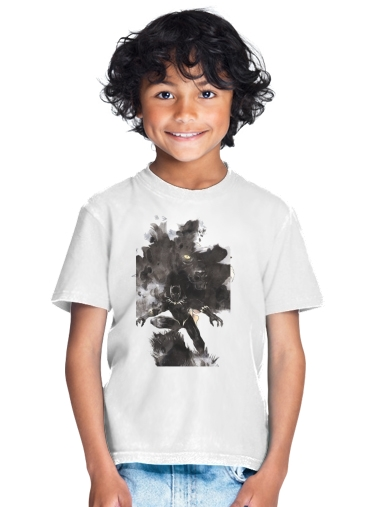tshirt enfant Black Panther Abstract Art Wakanda Forever