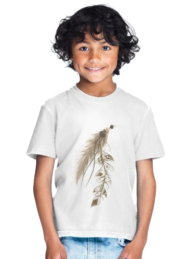 tshirt enfant Boho Feather