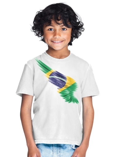 tshirt enfant Brazil Selecao Kit Home