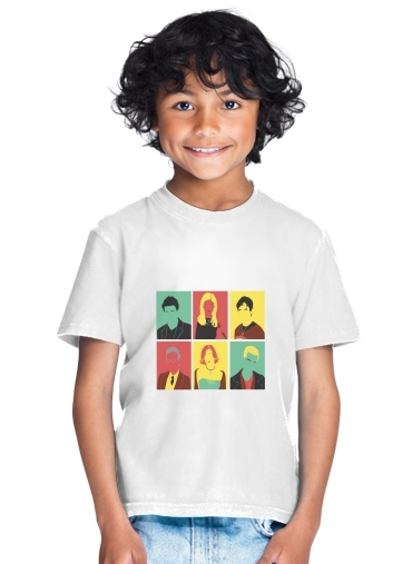 tshirt enfant Buffy Pop