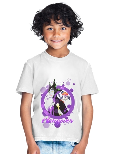 tshirt enfant Disney Hangover: Maleficent feat. Zazu