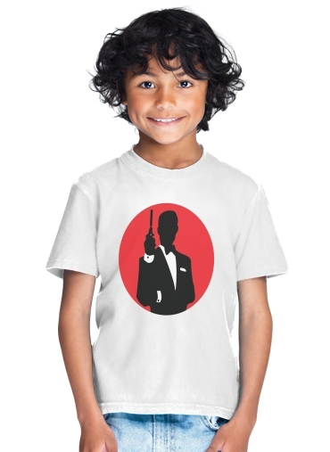 tshirt enfant English Secret Agent