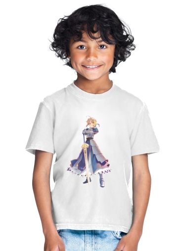 tshirt enfant Fate Zero Fate stay Night Saber King Of Knights