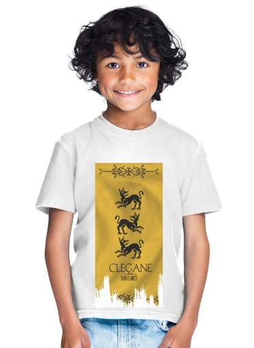 tshirt enfant Flag House Clegane