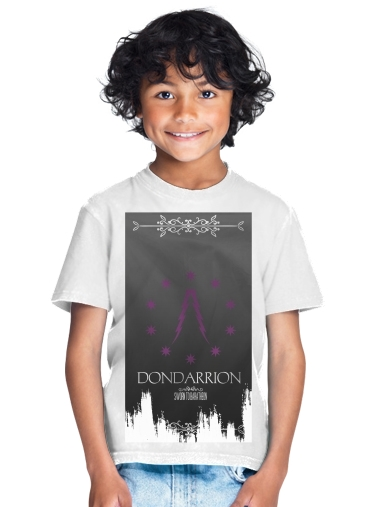 tshirt enfant Flag House Dondarrion