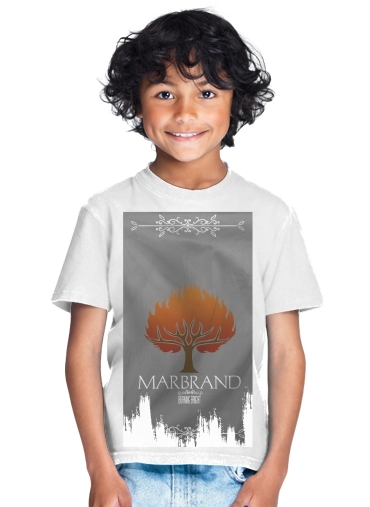 tshirt enfant Flag House Marbrand