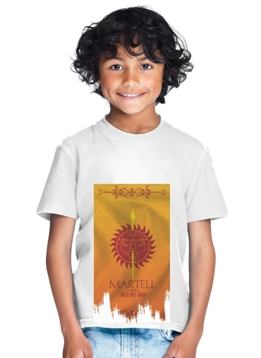 tshirt enfant Flag House Martell