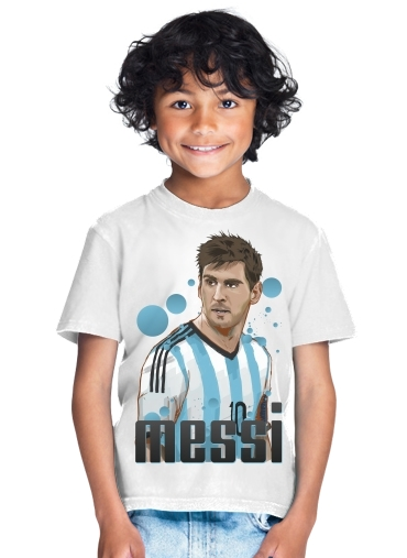 tshirt enfant Football Legends: Lionel Messi - Argentina