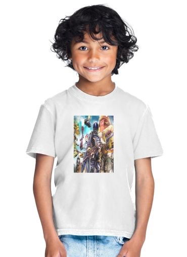 tshirt enfant Fortnite Characters with Guns