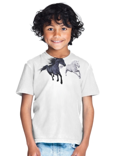 tshirt enfant Freedom in the snow