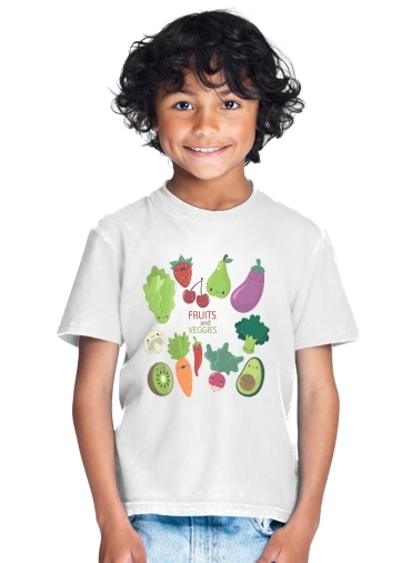 tshirt enfant Fruits and veggies